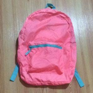 Pink & teal packable backpack No Boundaries NWT!